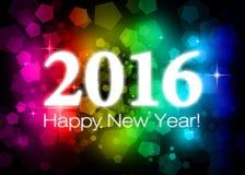 2016 счастливых Новых Годов Стоковые Фото