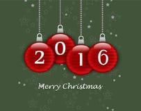 2016 счастливых Новых Годов Стоковое Фото