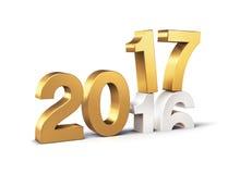 2017 счастливых Новых Годов Стоковые Фотографии RF