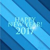 2017 счастливых Новых Годов background card congratulation invitation Стоковые Фото