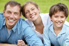3 счастливых люд Стоковое фото RF