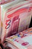 100 счетов Renminbi Стоковая Фотография