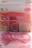 100 счетов Renminbi Стоковые Изображения
