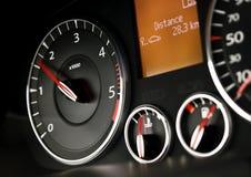 счетчик автомобиля возбуждает Стоковая Фотография RF