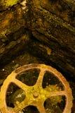 Счетчик воды перед плитками Стоковое фото RF