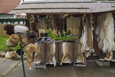 Счетчик в рынке Стоковая Фотография RF