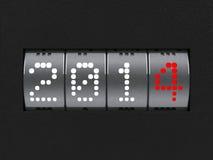 Счетчик Нового Года 2014 Стоковое Изображение RF