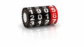 Счетчик 2015 Новых Годов Стоковое Фото