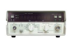 Счетчик частоты на белой предпосылке Стоковые Фотографии RF