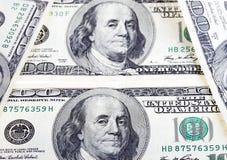 Счеты доллара закрывают вверх Стоковые Фото