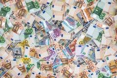счеты доллара и евро для desing Стоковое Изображение