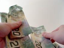 счеты подсчитывая доллар 20 стоковые фото