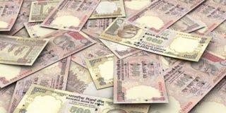 Счеты рупии Стоковое Изображение