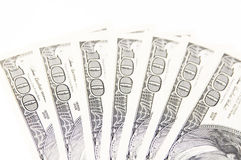 счет доллара 100 Стоковое фото RF