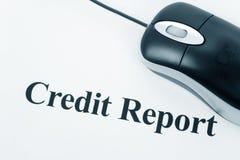 счет кредита стоковое фото rf