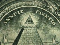 Счет доллара США Стоковые Фото