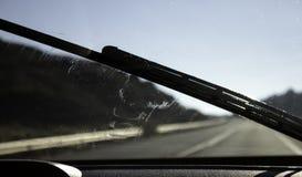 Счищатели лобового стекла автомобиля стоковое фото rf