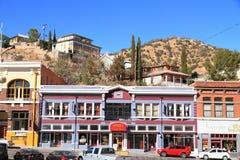 США, Аризона/Bisbee: Историческая грандиозная гостиница Стоковая Фотография RF