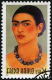 США - 2001: выставки Frida Kahlo de Rivera 1907-1954, мексиканский художник, Магдалена Кармен Frida Kahlo y Calderon стоковое изображение rf