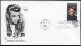 США - 1996: декан 1931-1955 Джеймс выставок, актер стоковые фото