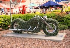 США, Невада: Скульптура Лас-Вегас - Harley Davidson Стоковые Изображения RF