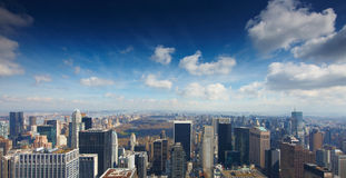 15 03 2011, США, Нью-Йорк:: Взгляд от observat Стоковое Фото