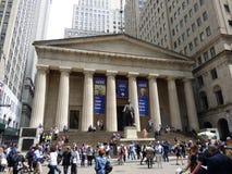 США Нью-Йорк соотечественник федеральной залы мемориальный Wall Street стоковые фотографии rf