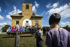 США - Огайо - Амиши стоковое фото rf