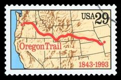 США - Печать почтового сбора стоковая фотография