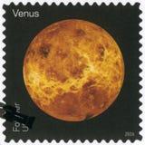 США - 2016: показывает Венеру, взгляды серии наших планет Стоковая Фотография