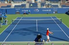 США раскрывают теннисный корт Стоковое Изображение RF