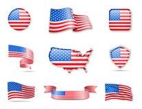 США сигнализируют собрание Стоковая Фотография RF