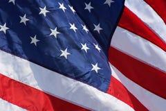 США Флаг Стоковое Фото