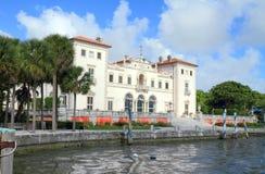 США, Флорида/Майами: Туристическая достопримечательность - вилла Vizcaya Стоковые Изображения