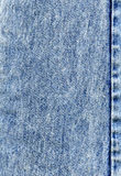сшитая джинсовая ткань Стоковые Изображения RF