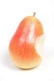 съеденная груша зрелая Стоковые Фото