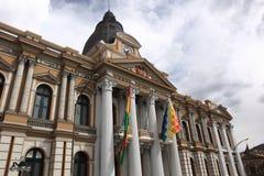 Съезд в La Paz, Боливии стоковые изображения