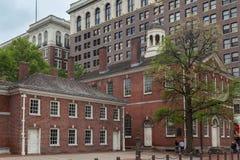 Съезд Hall Филадельфия стоковые изображения rf