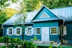 Съезд Партии музея i дома в Минске, Беларуси стоковое изображение