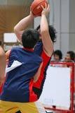 съемка баскетбола Стоковое Изображение RF