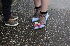 Съемка ботинка стоковая фотография