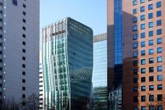 съемка высшей должности cbd зданий Пекин Стоковое фото RF