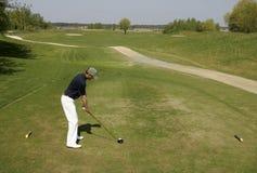 съемка гольфа Стоковое Изображение RF