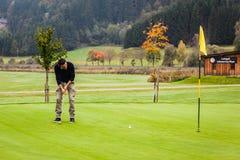 Съемка гольфа пташки Стоковые Фотографии RF