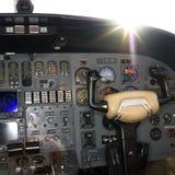 съемка интерьера самолета Стоковое фото RF