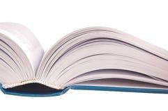 съемка книги раскрытая крупным планом Стоковое Изображение RF