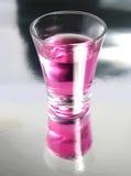 съемка коктеила вишни Стоковые Фото