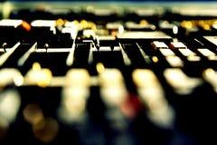 съемка макроса набора микросхем Стоковая Фотография RF