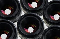 съемка объектива Стоковая Фотография RF