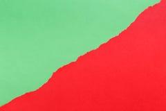 съемка предпосылки близкая бумажная вверх зеленый красный цвет Стоковое Изображение RF